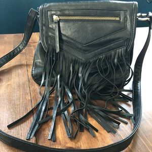 Madden Girl cross body fringe purse